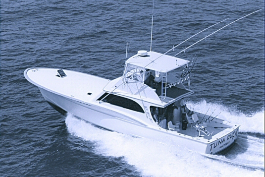 Tuna duck charter fishing boat hatteras north carolina boat for Fishing in duck nc