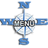compass rose menu icon