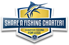 share a fishing charter logo
