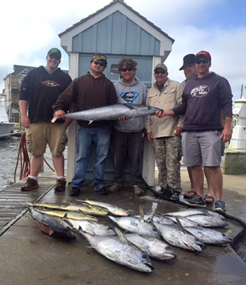 Cape hatteras fishing charter boat tuna duck for Fishing in duck nc
